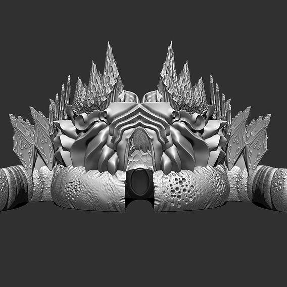 Xenos Colony Printable Models Preview
