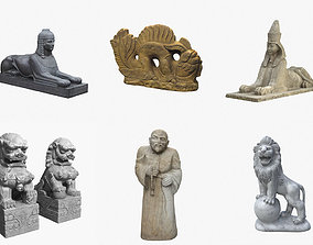 Collection of Asian Sculpture 3D Scanned Models