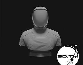 3D printable model Starman Bust - SpaceX Crew Bust