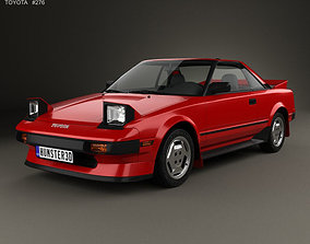 3D Toyota MR2 1984