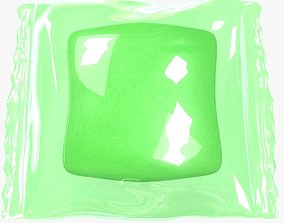 wrapped 3D Wrapped Green Candy