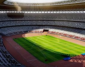 New National Stadium Tokyo - Japan - 2020 Olympics 3D