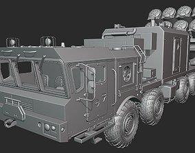 MAZ Bastion truck 3D printable model