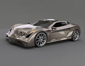 conceptcar 3D Speedtrooper concept car