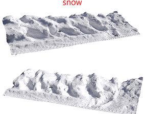 3D Snow fence