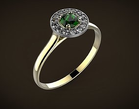 Twisted World Ring 3D printable model