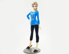 ELSA WRECK IT RALPH2 VERSION 3D print model