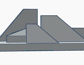 Geometric Scene 4b 3D print model