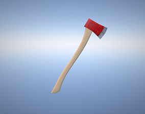 Lumber Axe 3D model