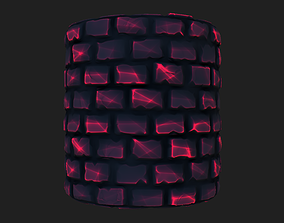 Stylized Wall 3D model