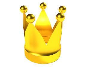 3D asset VR / AR ready Crown