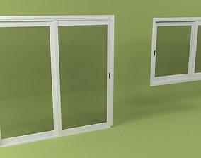 Window and Door Window 3D asset
