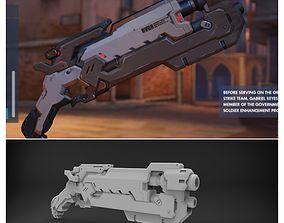 Soldier 24 Reaper Shotgun 3d model