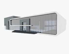 Sport Center Building 1 3D model