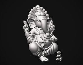 Ganesh ji with Mushak raj 3D print model
