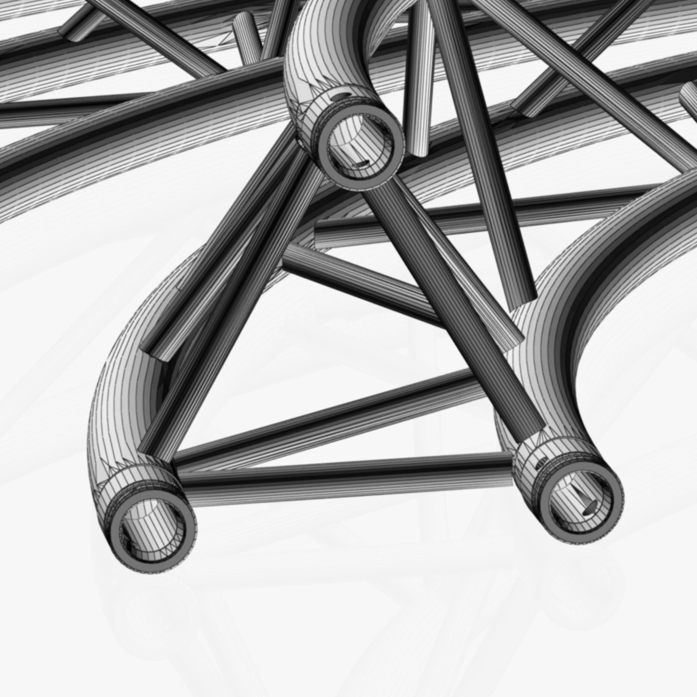 Circle Triangular Truss Modular Collection (10 Modular Pieces)