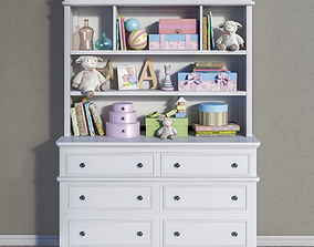 Toys and furniture set 6 3D