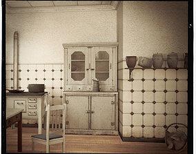 vintage kitchen pack 3D asset