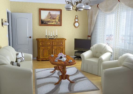 Livingroom (Blender + VRay)