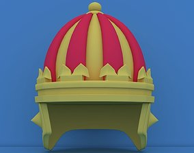 3D asset Realistic King Crown