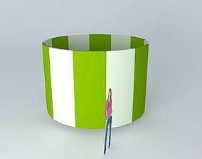 Column 3500 x 2300 3D model