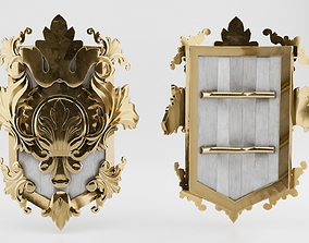 3D model Medieval Royal Shield