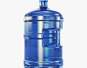 3D Water Bottle Container v 1