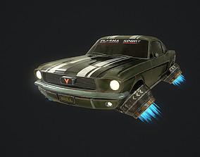 3D model CyberPunk Car