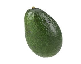 grocery Photorealistic Avocado 3D Scan 2
