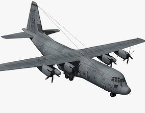 c130 C-130J Military Transport 3D model