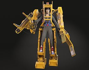 3D model Alien Nostromo Power Loader