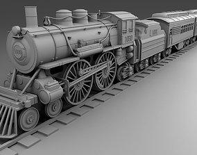Chicago train 3D print model