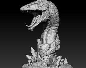 3D print model Crystal Dragon