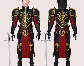 Knight 3D warrior