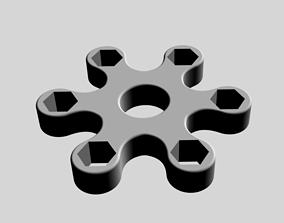 3D print model Simple fidget spinner