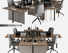 3D model office furniture 07