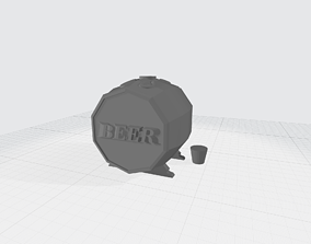 3D printable model container jewelry