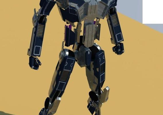 WIP Animated Robot