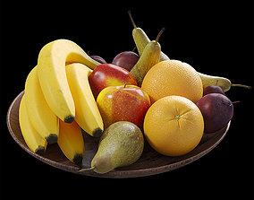 Fruit set 3D model