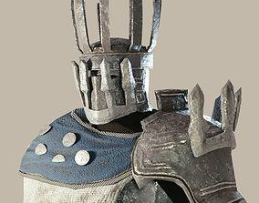 3D asset Tower Armorset