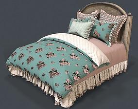 Bed 1 3d model PBR