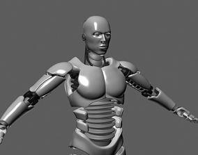 ROBOT MALE UNFINISHED 3D model