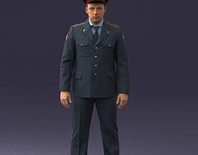 Policeman 0118 3D Print Ready