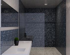 Bath-Interior Visualization 3D