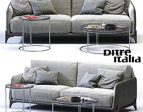 Ditre Italia ELLIOT 3-er Sofa 3D model