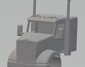 Kenworth T610 Printable Cab Truck