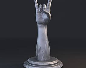 3D print model Rock music gesture
