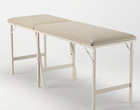 Massage table furniture 3D model