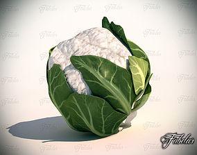 3D model realtime Cauliflower