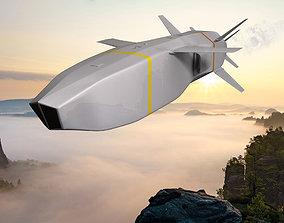 3D model SOM-J Missile